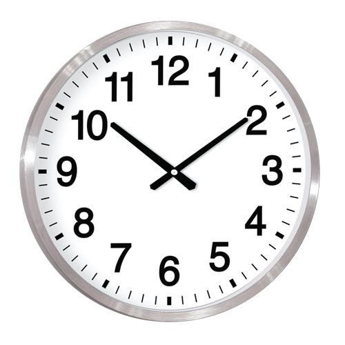 Alüminyum Çerçeve Duvar Saati