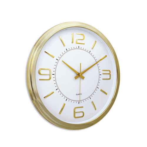Metalize Çerçeve Duvar Saati