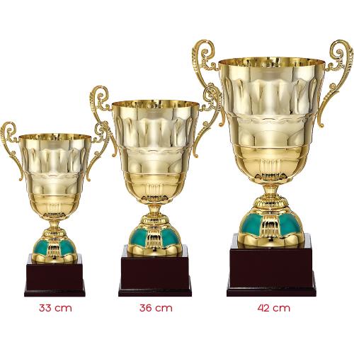 Gold 3'lü Kupa Set